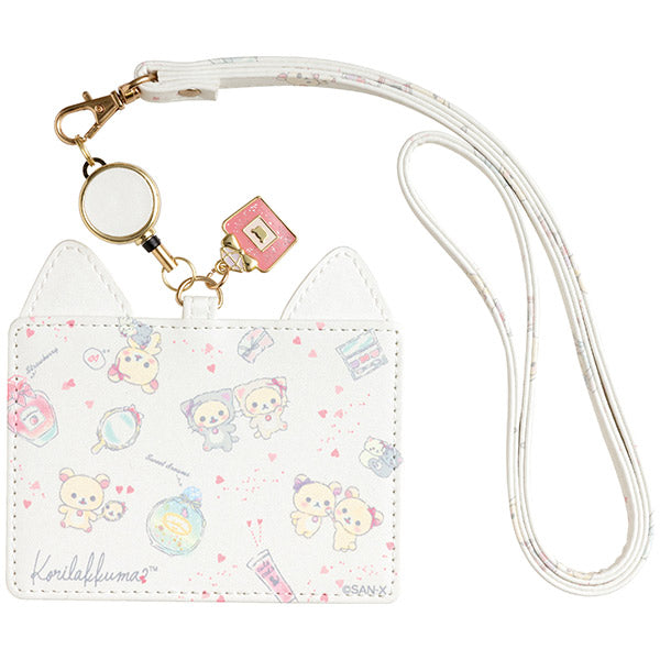 Korilakkuma in the Mirror ID Card Case San-X Japan Rilakkuma