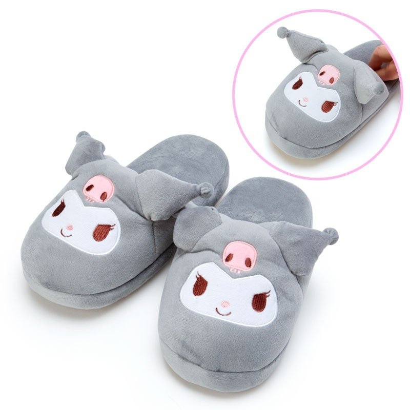 Kuromi Slipper Ear Pyoko Pyoko Sanrio Japan