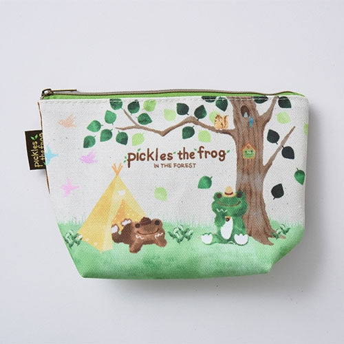 Pickles the Frog Pouch Forest Japan 121523-18