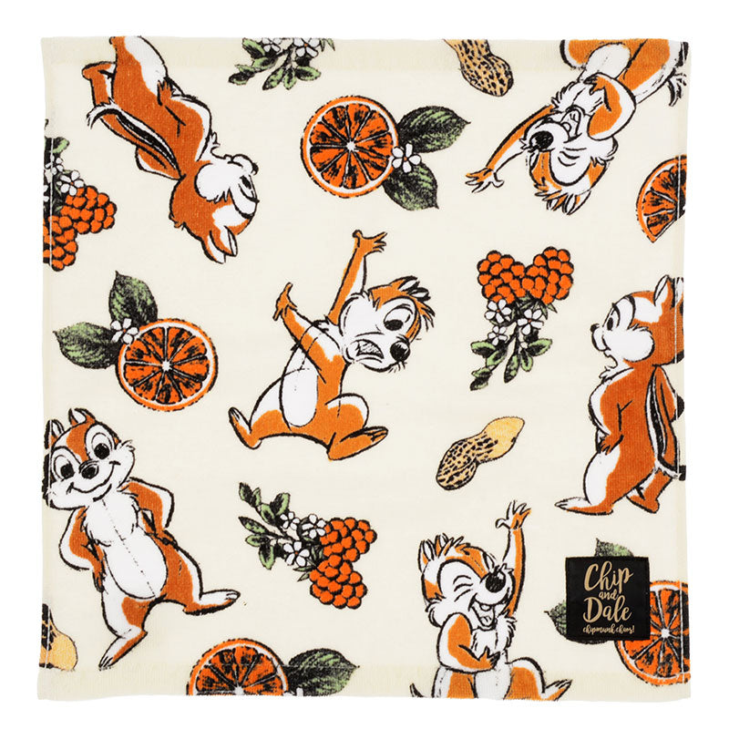 Chip & Dale Guest mini Towel Chic Sketch Disney Store Japan