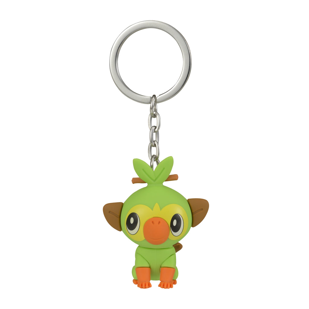 Grookey Sarunori Mascot Keychain Key Holder Sword Shield Pokemon Center Japan