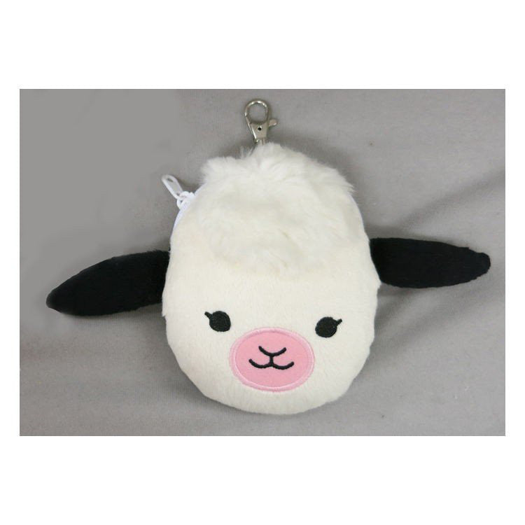 Milk Cow Plush ID Card Pass Case the bears' school Japan Jackie