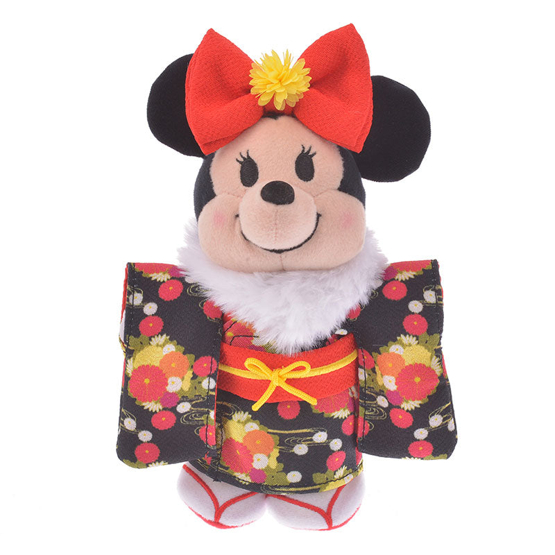 Costume for Plush nuiMOs Doll Kimono Girl Black Disney Store Japan New Year