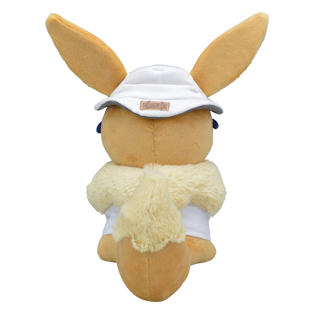 Eevee Eievui Plush Doll Assistant Pika & Vee Pokemon Center Japan Original