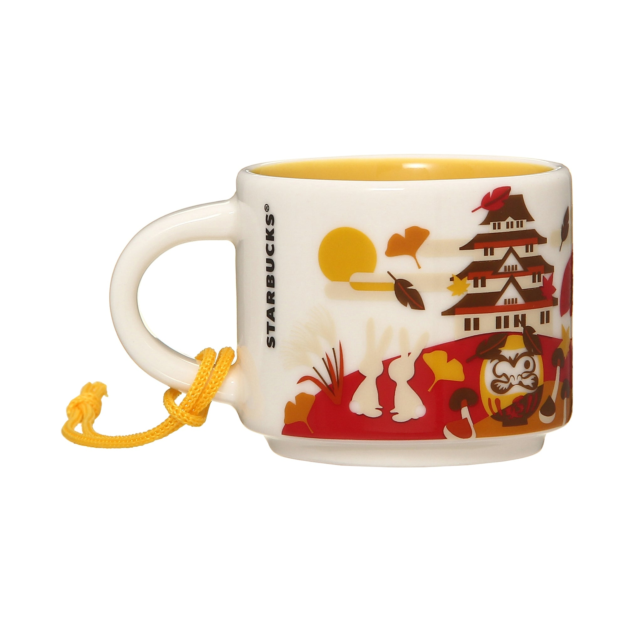 You Are Here Collection Mug Cup Japan Autumn 59ml Starbucks 2019