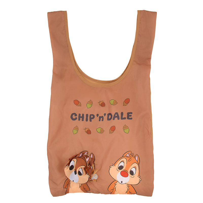 Chip & Dale Eco Shopping Tote Bag Motif Disney Store Japan