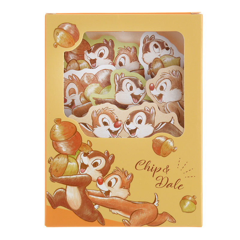 Chip & Dale Memo Note Pad Acorn Disney Store Japan