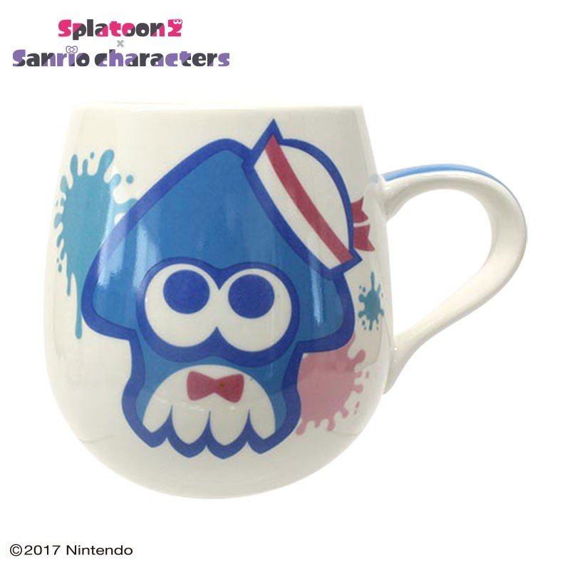 Tuxedosam Mug Cup Squid Splatoon 2 Sanrio Japan