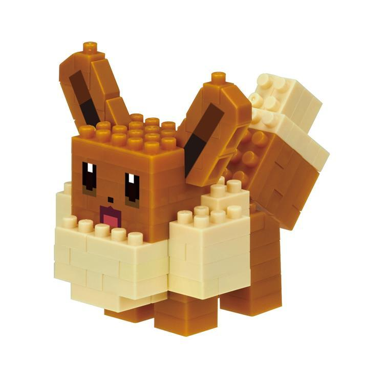 Eevee Eievui Block Building Toy nanoblock Pokemon Square Japan