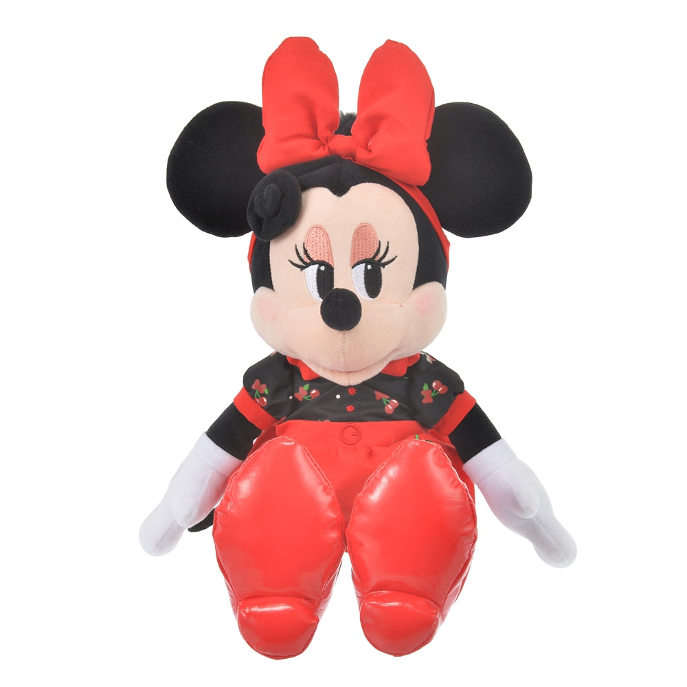 Minnie Plush Doll CHERRY Disney Store Japan