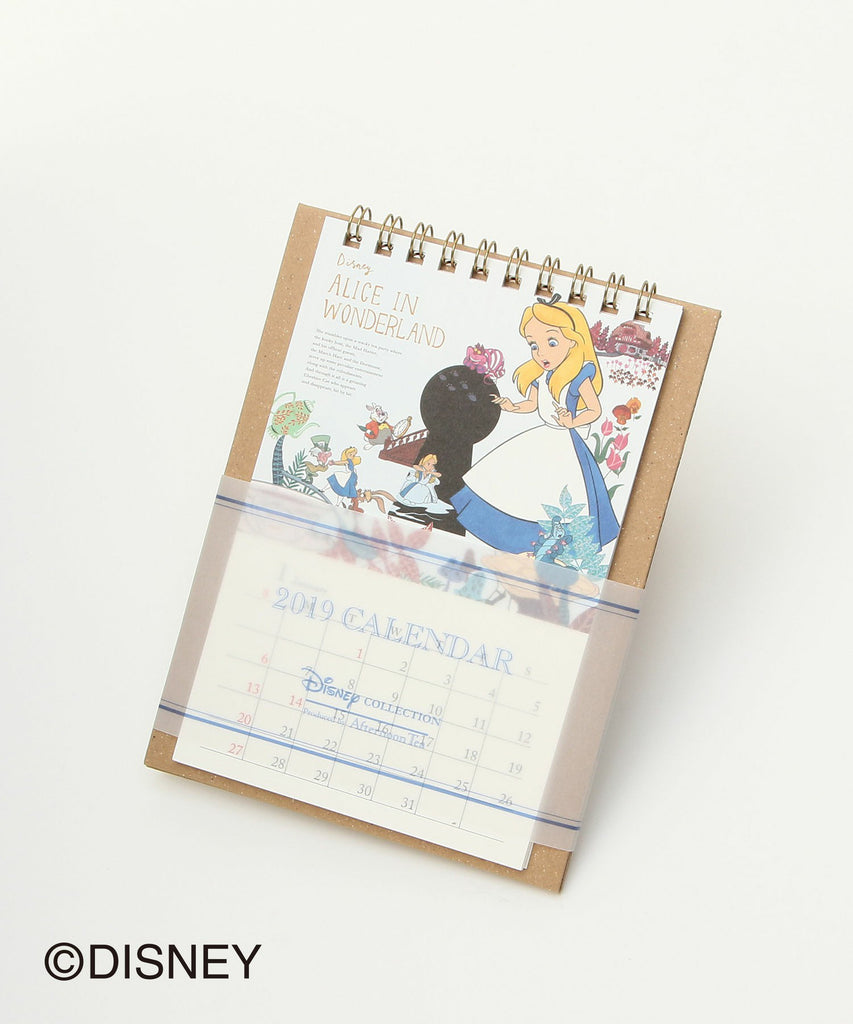 Alice in Wonderland 2019 Calendar Desktop Disney Afternoon Tea Japan