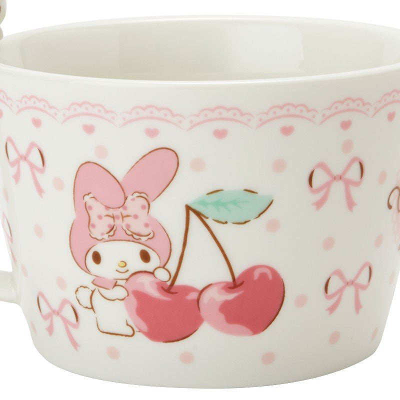 My Melody Soup Mug Cup Mascot Sanrio Japan