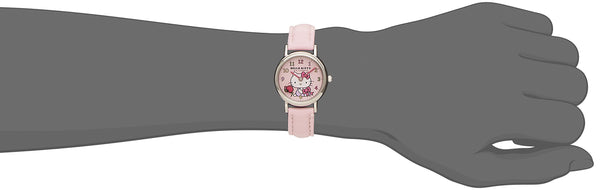 Hello Kitty Wrist Watch Waterproof Pink HK25-002 CITIZEN Q&Q Japan Sanrio