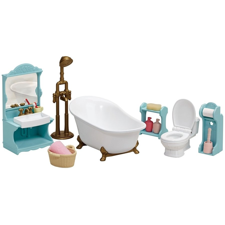 Sylvanian Families Room Bathroom Set Se-200 EPOCH Japan