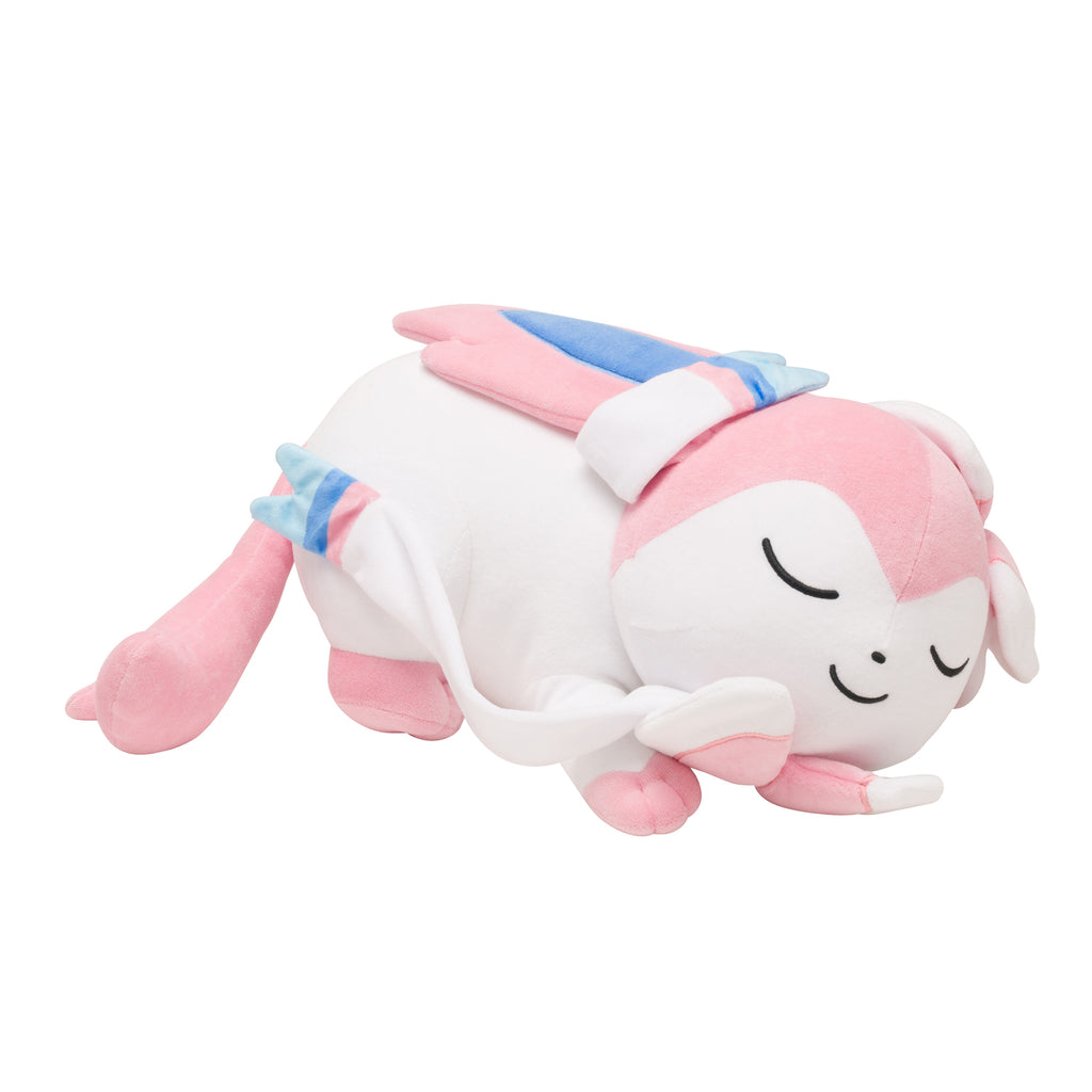 Sylveon Nymphia Plush Doll Big Suyasuya Sleeping Pokemon Center Japan