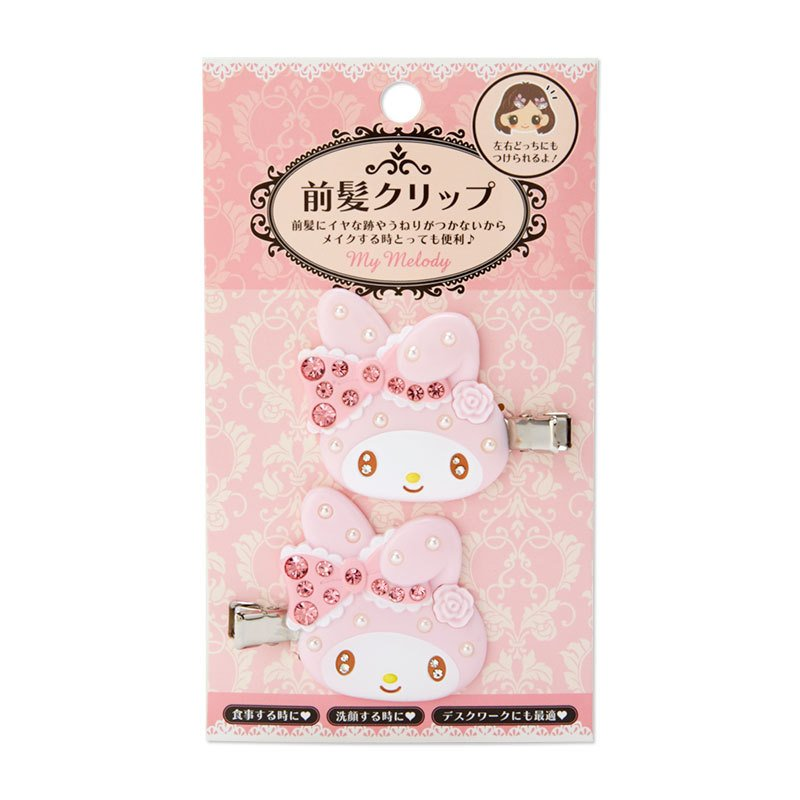 My Melody Hair Clip Deluxe Sanrio Japan 2021