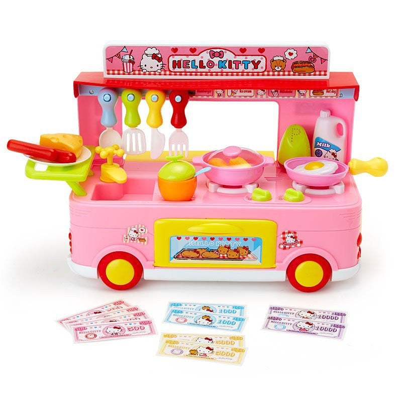 Hello Kitty Pretend Play Toy Kitchen Car Set Sanrio Japan