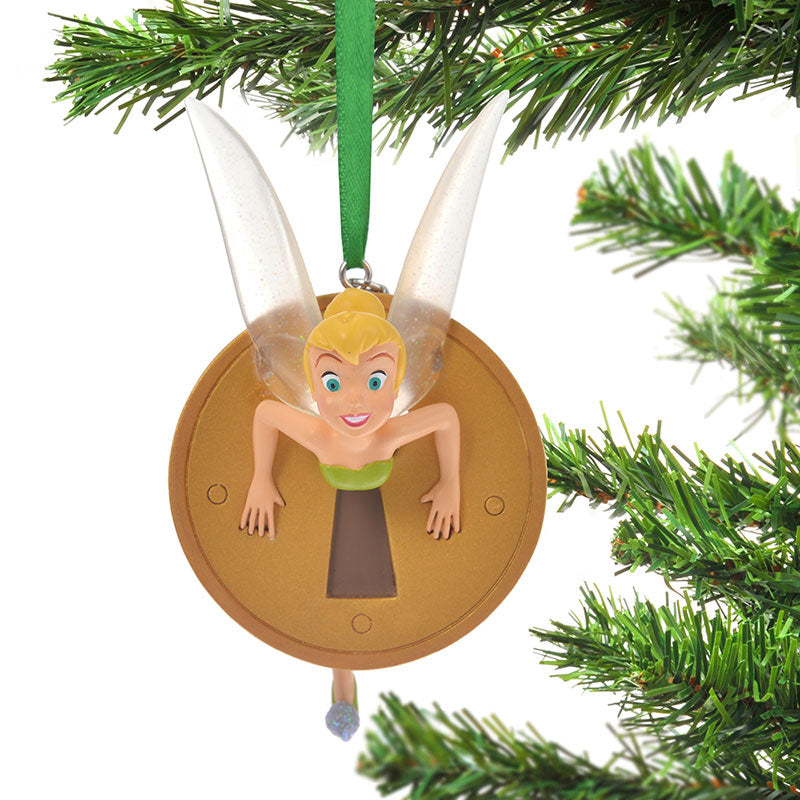 Tinker Bell Christmas Tree Ornament Keyhole Disney Store Japan 2019 Peter Pan