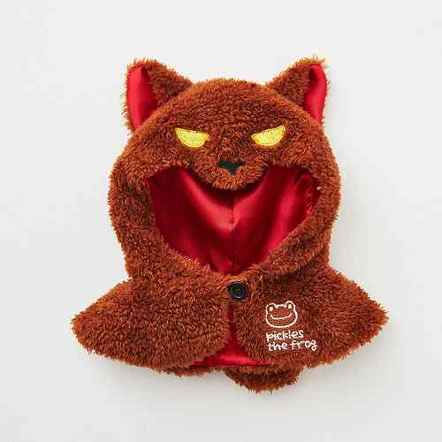 Costume for Bean Doll Plush Wolf Poncho Pickles the Frog Japan Halloween 2019