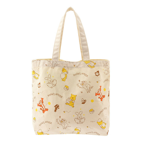 Winnie the Pooh & Friends Tote Bag POOH'S HOUSE Disney Store Japan