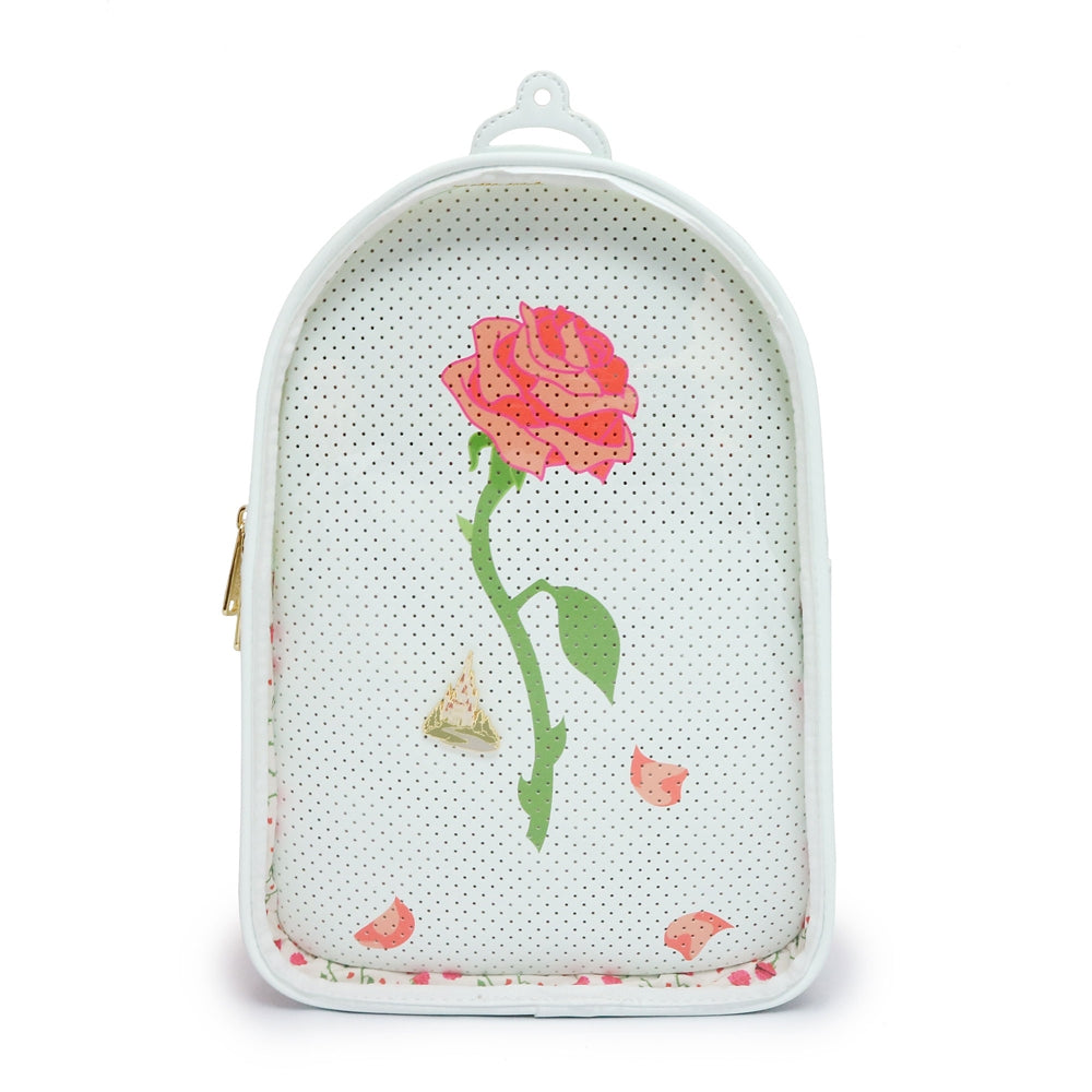 Beauty and the Beast Enchanted Rose Backpack Loungefly Disney Store Japan