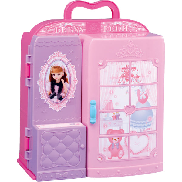 Pretend Play Toy House Dress Room Licca Chan Takara Tomy Japan
