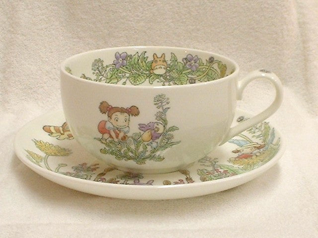 My Neighbor Totoro Tea Cup Sorcerer Ghibli Noritake Japan Dandelion Gift Box