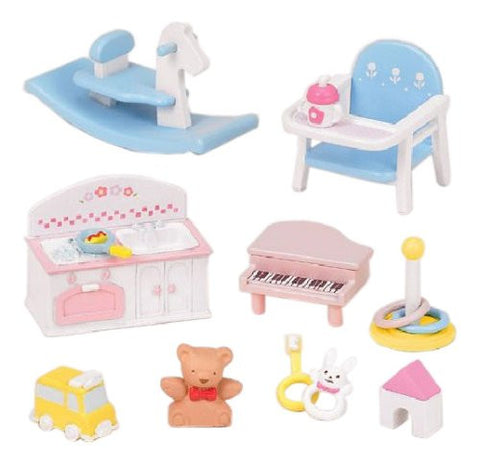Baby Toy Set Furniture K-211 Sylvanian Families Japan Calico Critters