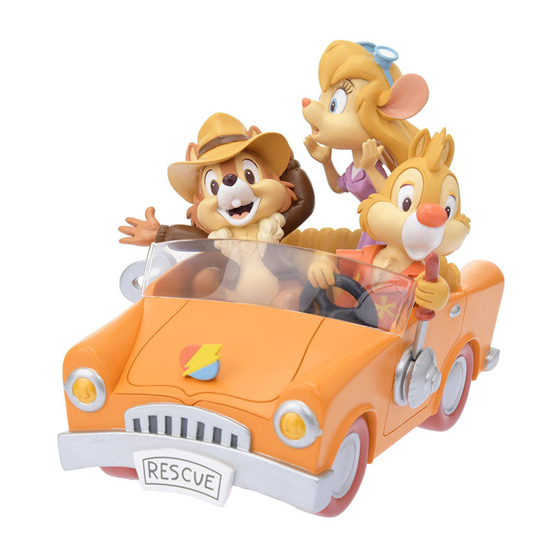 Chip & Dale Bobbin Head Figure Rescue Rangers 2019 Disney Store Japan