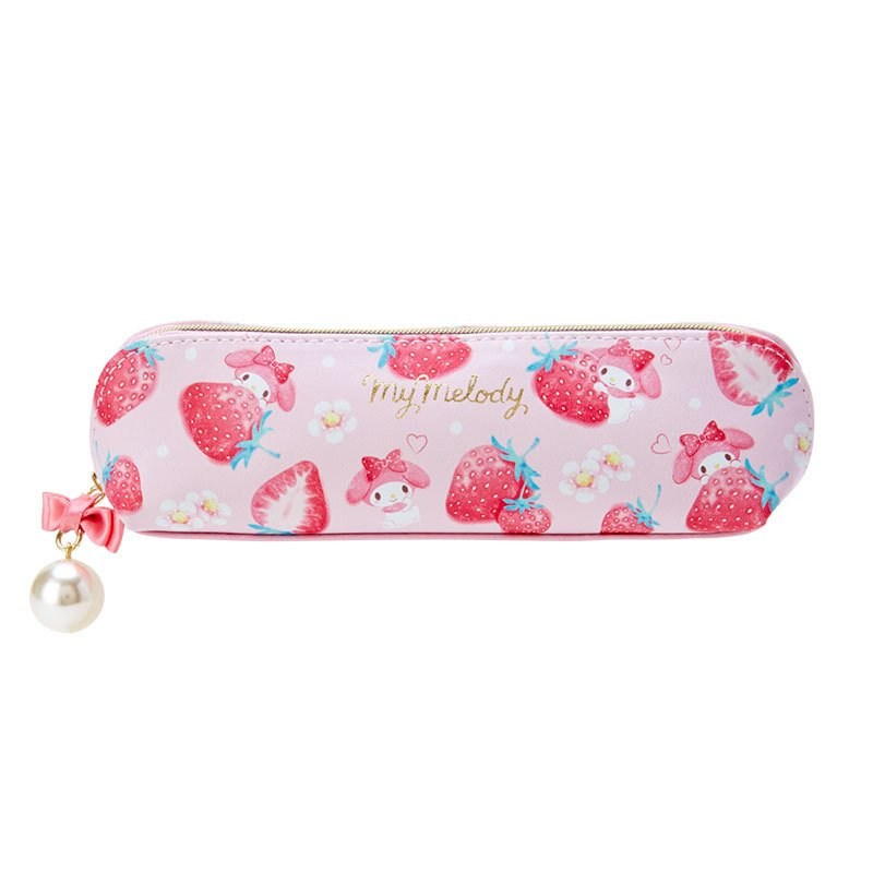 My Melody Slim Pen Case Pencil Pouch Happiness Girl Sanrio Japan