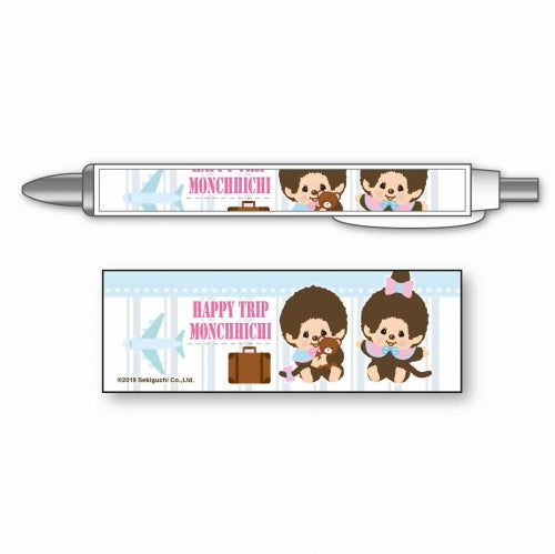 Monchhichi Mechanical Pencil C HAPPY TRIP MONCHHICHI Japan