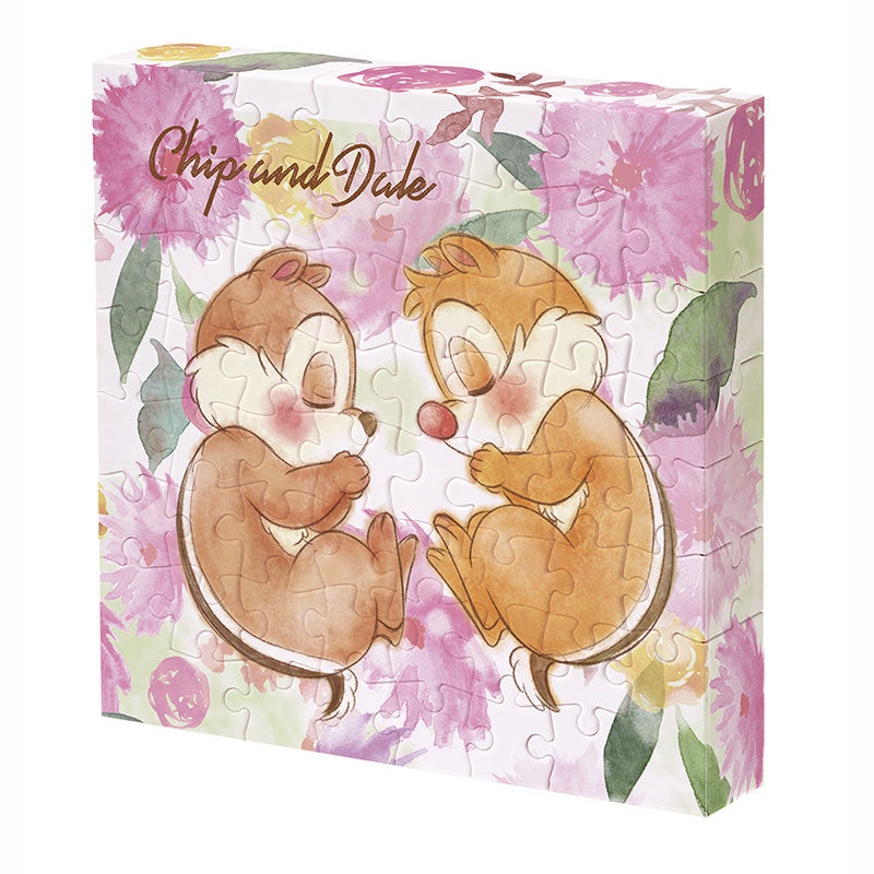 Chip & Dale Canvas Puzzle Nap Time Disney Store Japan 56 pieces