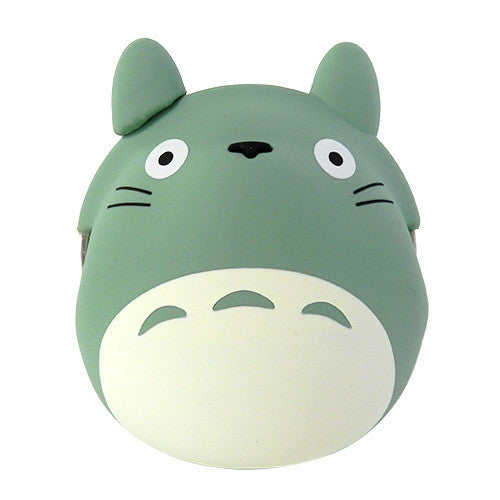 My Neighbor Totoro Silicon Clasp Pouch Green Studio Ghibli Japan