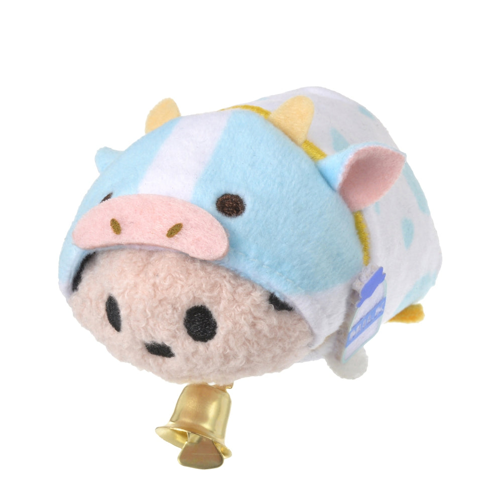 Mickey Tsum Tsum Plush mini S Eto Zodiac 2021 Cow Disney Store Japan New Year