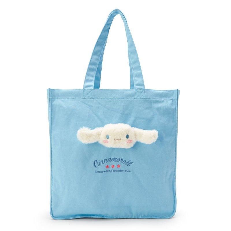 Cinnamoroll Boa Plush Mascot Tote Bag Sanrio Japan