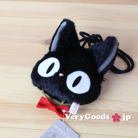 Kiki Delivery Service Clasp Pouch Jiji Cat Black Studio Ghibli Japan