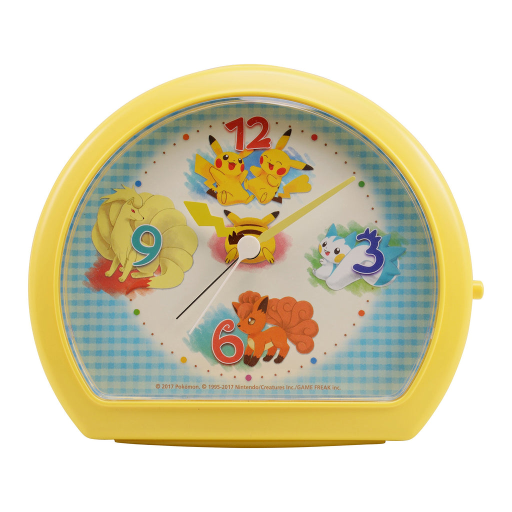 Pikachu Clock Tail Pokemon Center Japan Original