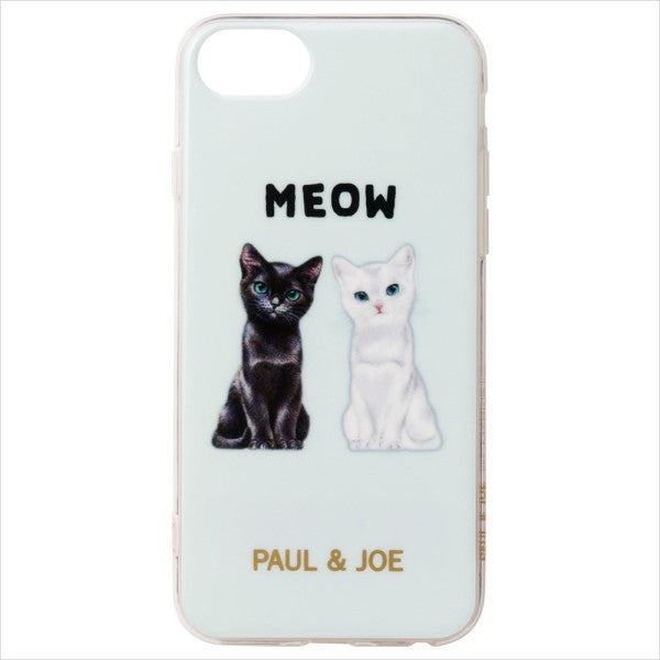 iPhone 6 6s 7 8 Case Cover Chess Cat Aqua Blue PAUL & JOE Japan