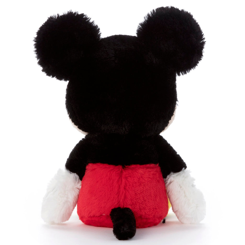 Mickey Fluffy Fuwanade Plush Doll S Disney Takara Tomy Japan