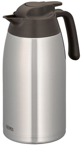 Thermos Stainless Pot 2L Brown THV-2001 SBW Japan