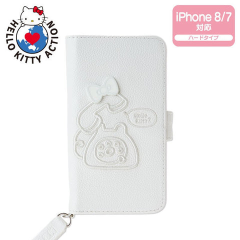 iPhone 8 7 Case HELLO KITTY ACTION MEET SOMEONE NEVER MET BEFORE Sanrio Japan