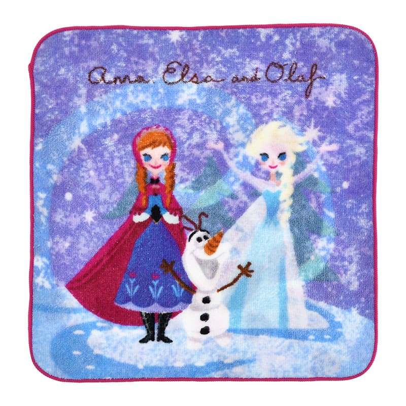 Frozen Anna Elsa Olaf mini Towel Valentine 2020 Disney Store Japan w/ Package