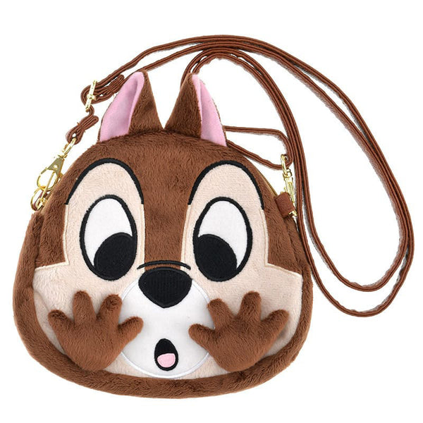 Chip Plush Smartphone Mobile Pochette Pouch Close-up Disney Store Japan