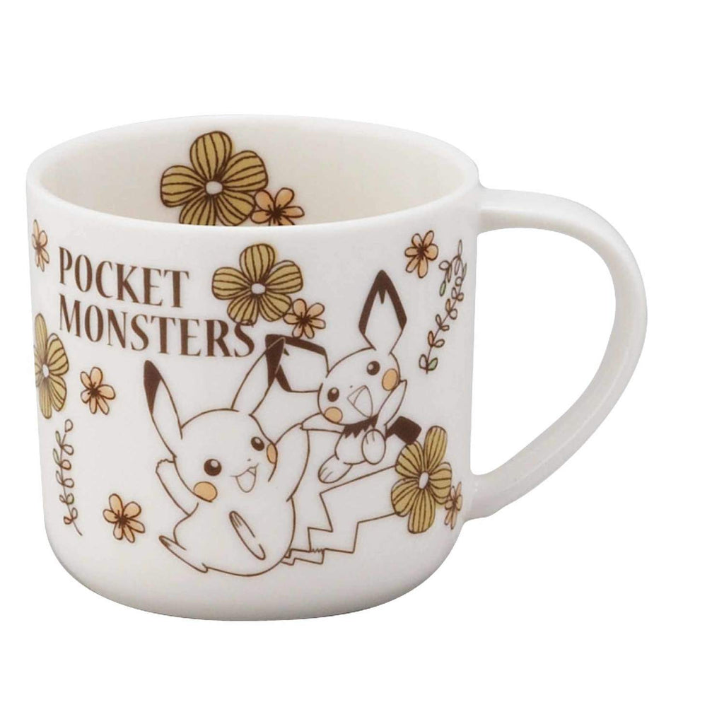 Mug Cup PM161-11 Yellow Pokemon Center Japan Original
