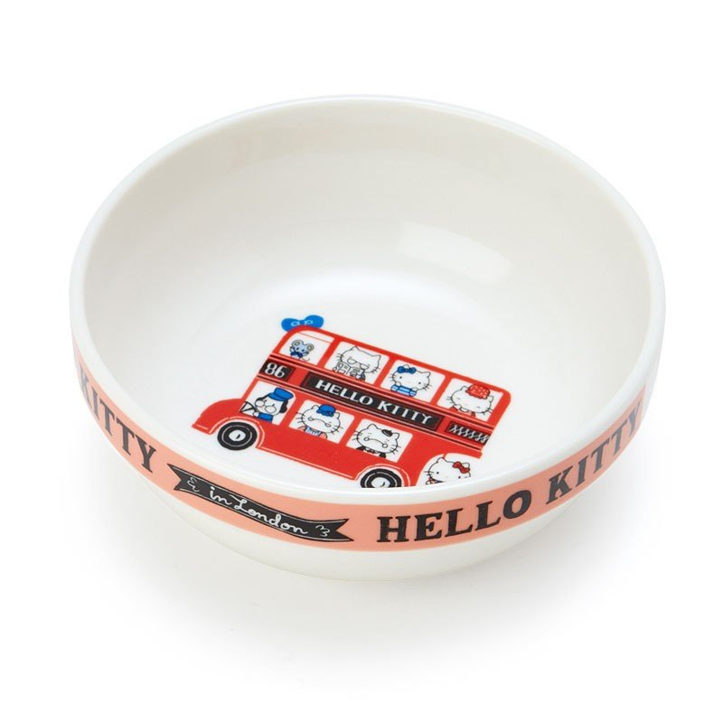 Hello Kitty Stacking Bowl Britain Bus Sanrio Japan
