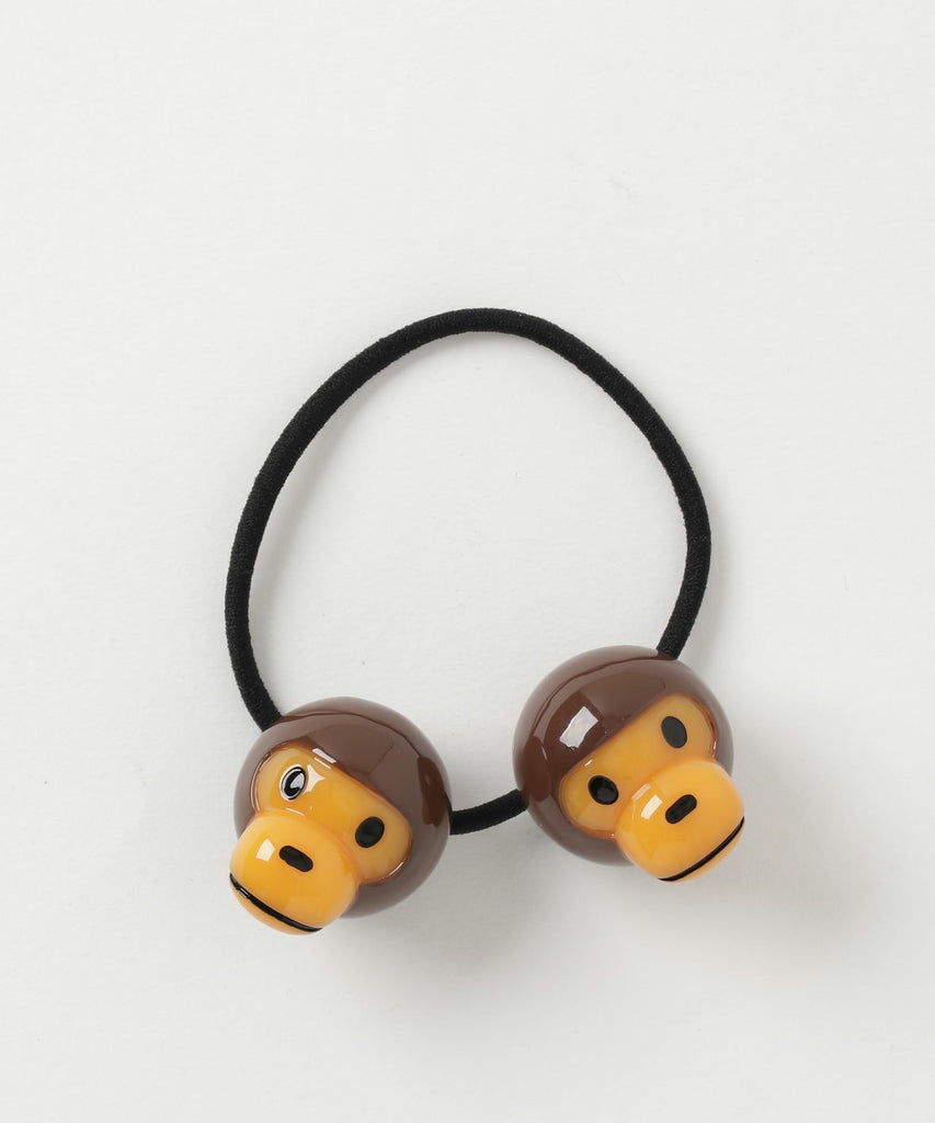 BABY MILO HAIR RUBBER BAND K Brown A BATHING APE Japan Kids