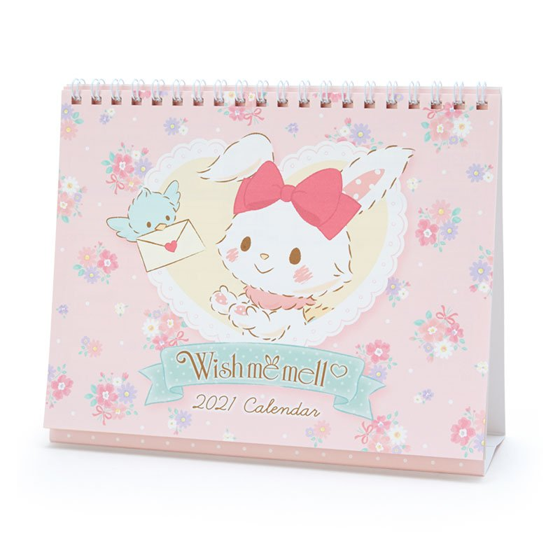 Wishmemell Ring Desktop Calendar 2021 Sanrio Japan