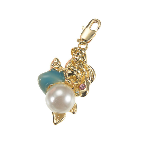 Ariel & Flounder Accessory Case Charm Disney Store Japan Princess