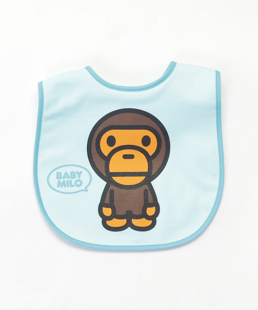 BABY MILO BIB KB Sax Blue A BATHING APE Japan