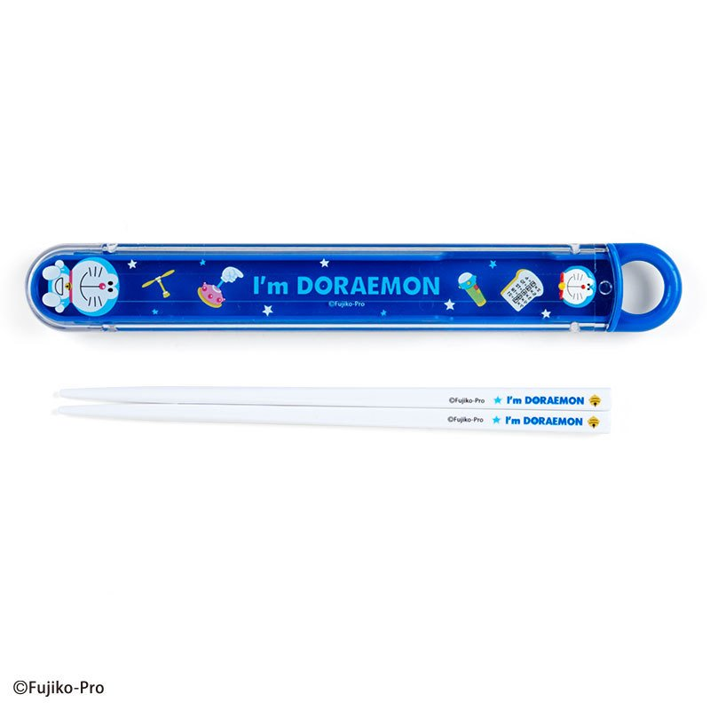 I'm DORAEMON Chopsticks with Case Relief Sanrio Japan